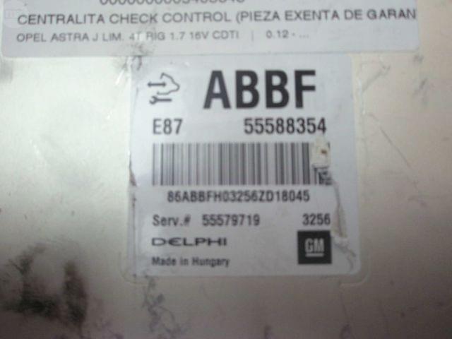 RECAMBIO CENTRALITA OPEL ASTRA J 1. 7 CDT