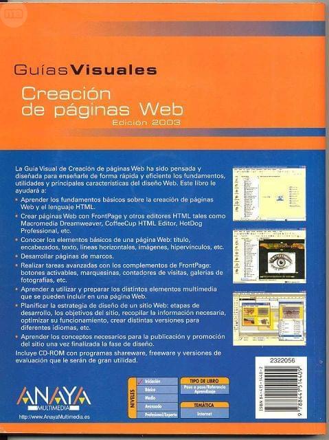 CREACION DE PAGINAS WEB - foto 2