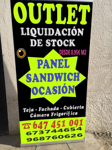 Outlet Del Panel Sandwich            (2)