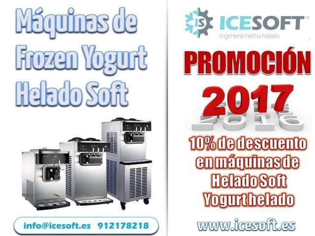 MAQUINAS DE YOGURT HELADO HELADO SOFT