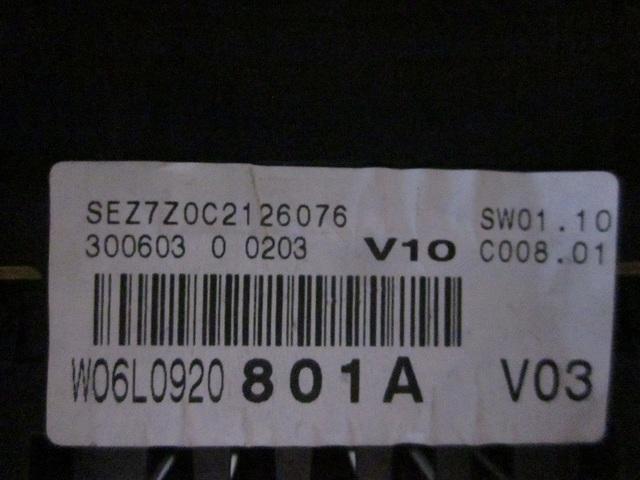 CUADRO SEAT W06L0920801A / 110080104010A - foto 3