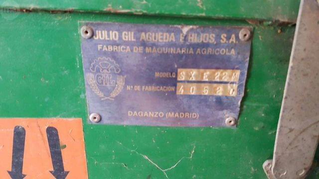 SEMBRADORA GIL SXE 22 CHORROS CON ABONAD - foto 2