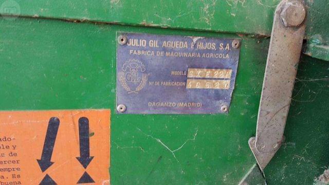 SEMBRADORA GIL SXE 22 CHORROS CON ABONAD - foto 8