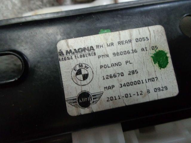 ELEVALUNAS TRAS DCHO MINI COUNTRYMAN R60 - foto 5