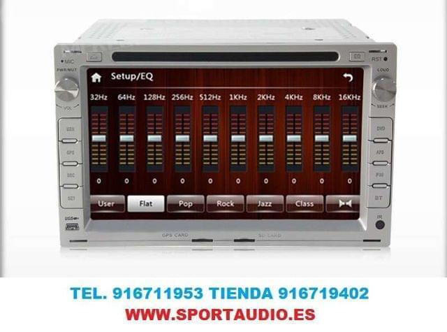 RADIO DVD NAVEGADOR GOLF 4,  PASSAT, IBIZA - foto 2