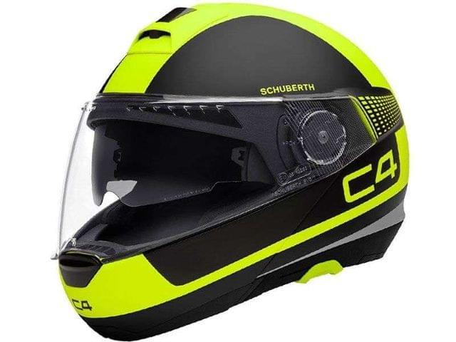 CASCO SCHUBERTH C4 LEGACY YELLOW - foto 1
