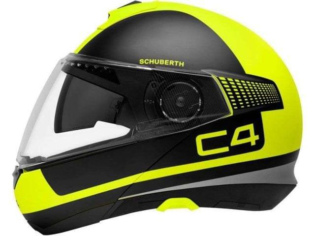 CASCO SCHUBERTH C4 LEGACY YELLOW - foto 2