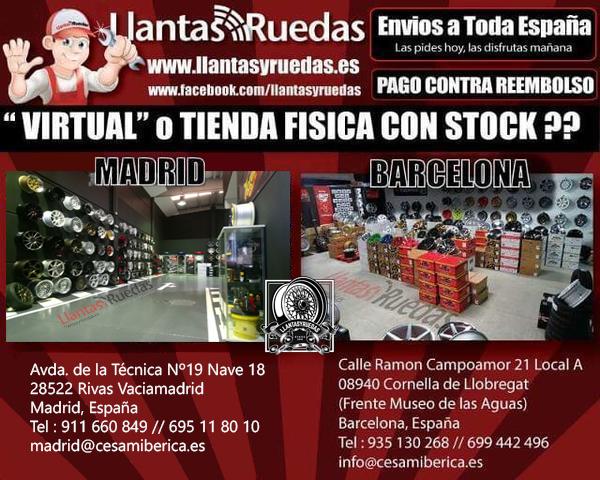 LLANTAS AVANGARDE M220 7,  5X17 8X18 9X18 - foto 6