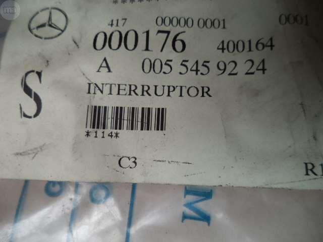INTERRUPTOR WARNING EMERGENCIA MERCEDES - foto 4