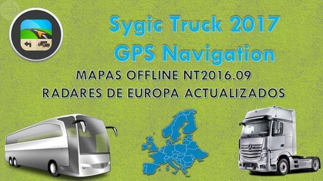 SYGIC TRUCK GPS NAVIGATION 2017