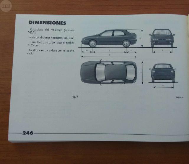 MANUAL INSTRUCCIONES FIAT BRAVA - foto 2