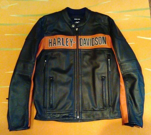 CHAQUETA PIEL HARLEY DAVIDSON - foto 2