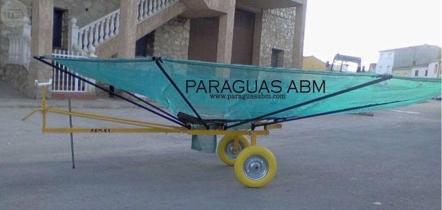 PARAGUAS ABM - MANUAL ALMENDRA OLIVA - foto 1