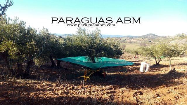 PARAGUAS ABM - MANUAL ALMENDRA OLIVA - foto 3