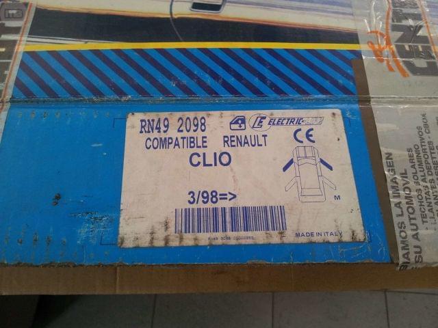 ELEVALUNAS ELECTRICO RENAULT CLIO 2 - foto 2