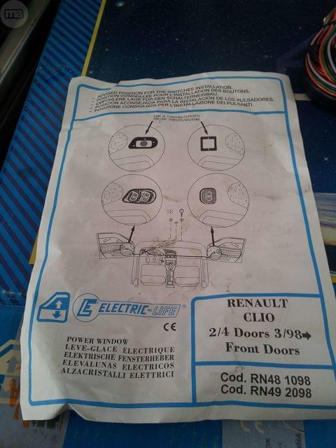 ELEVALUNAS ELECTRICO RENAULT CLIO 2 - foto 6