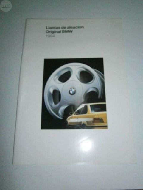 CATALOGO LLANTAS ALEACION ORIGINAL BMW - foto 1