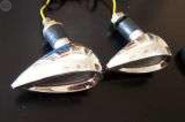 INTERMITENTES DE LED CROMADOS.  NUEVOS - foto 1