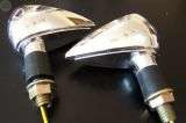 INTERMITENTES DE LED CROMADOS.  NUEVOS - foto 2