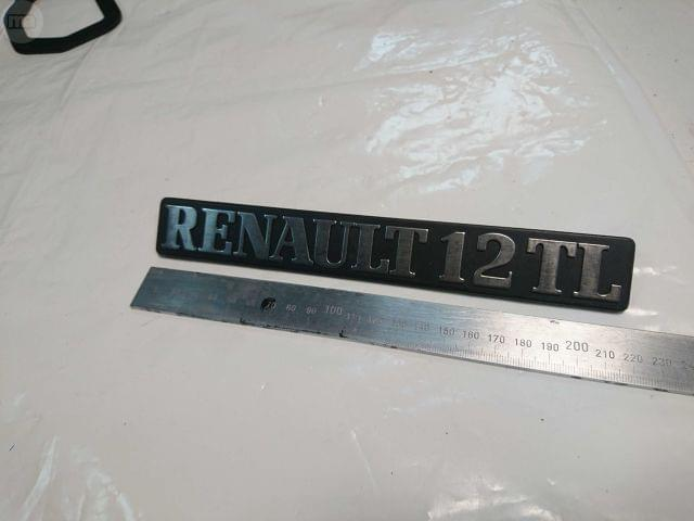 ANAGRAMA RENAULT 12 TL PLASTICO - foto 1