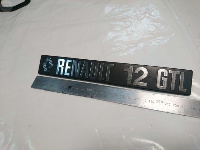 ANAGRAMA RENAULT 12 GTL - foto 1