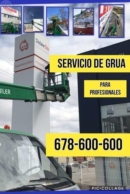 SERVICIO DE GRUA PLATAFORMA ELEVADORA - foto 1