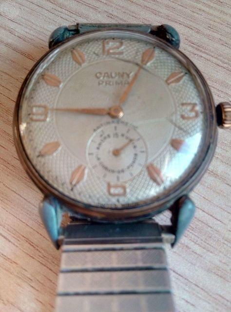 Reloj Cauny Prima Vintage Años 50