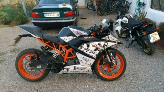 PEGATINAS KTM DUKE Y RC 125 390 - foto 4