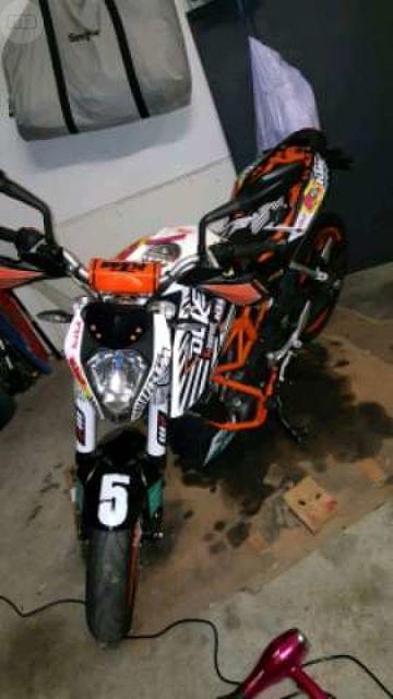 PEGATINAS KTM DUKE Y RC 125 390 - foto 7