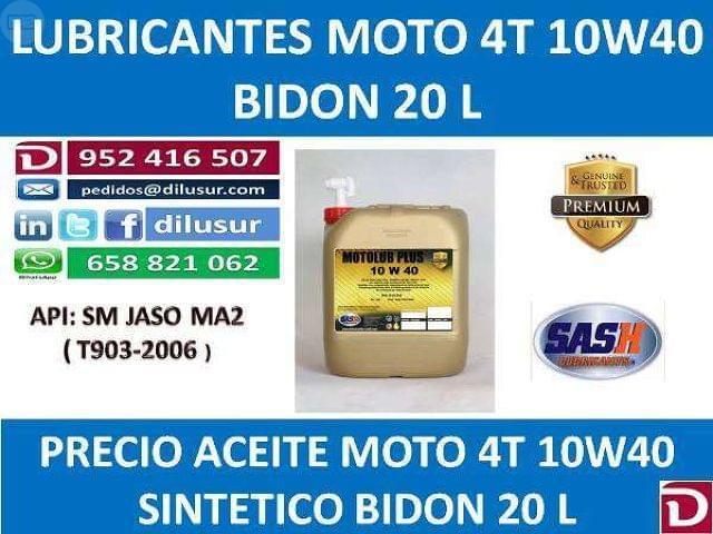LUBRICANTE MOTO 4T 10W40 20 L - foto 6