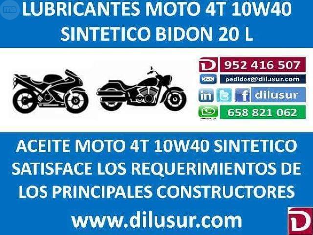 LUBRICANTE MOTO 4T 10W40 20 L - foto 8