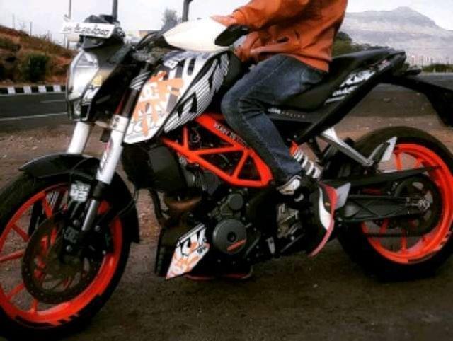 PEGATINAS KTM DUKE RC 125 200 390 - foto 5