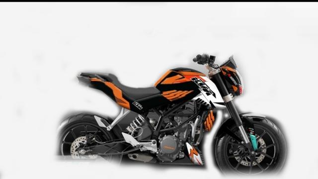 PEGATINAS KTM DUKE RC 125 200 390 - foto 8