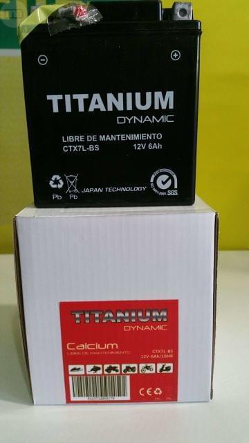 BATERIA MOTO BARATA TITANIUM YTX7L-BS - foto 1