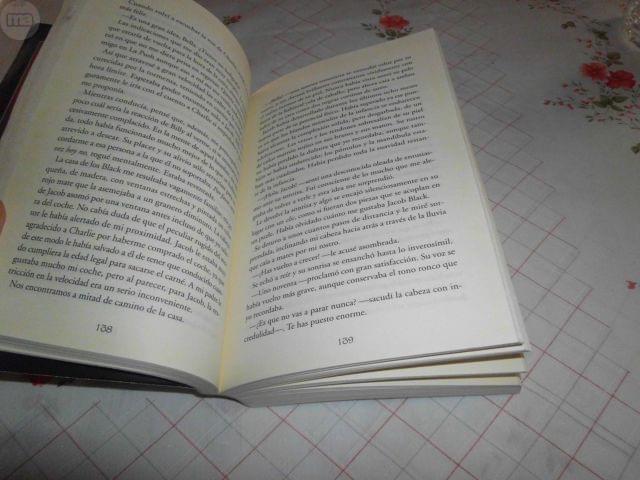 LIBRO LUNA NUEVA SAGA CREPUSCULO - foto 6