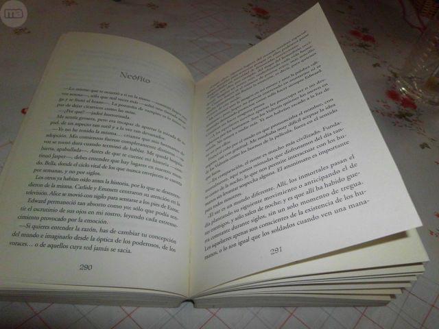 LIBRO ECLIPSE SAGA CREPUSCULO - foto 5