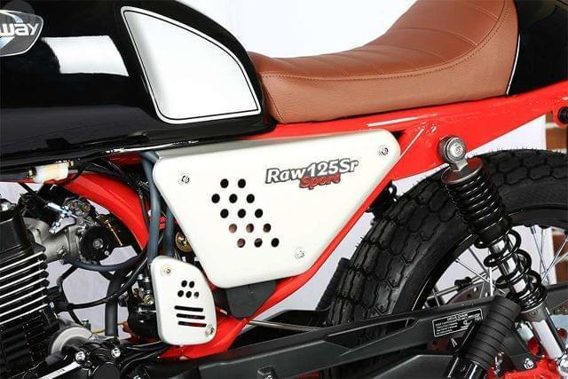 HANWAY - RAW 125 SR SPORT BLACK/RED - foto 8