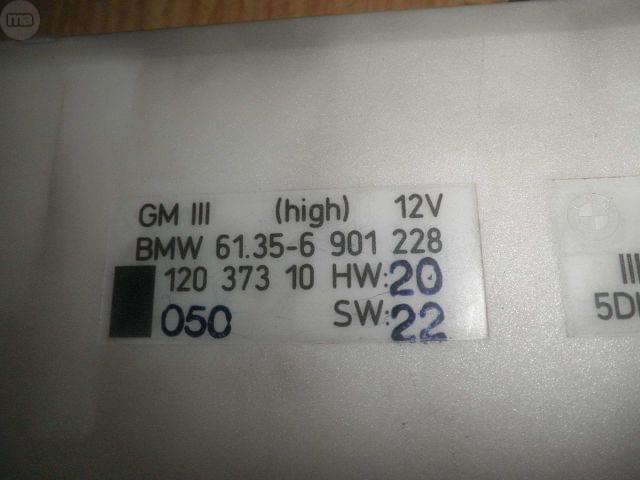 MODULO CARROCERIA BMW 61356901228 - foto 3