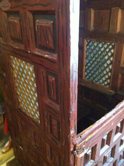 CONFESIONARIO DE ERMITA 1600 S S. XVII - foto 4
