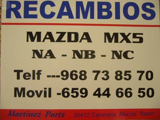 CORTAVIENTOS ORIGINAL MAZDA MX5 NB - foto 3