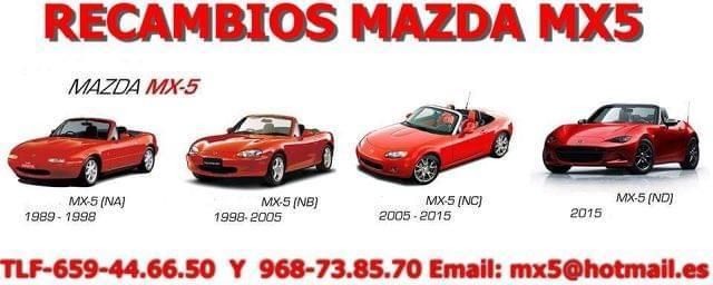 CORTAVIENTOS ORIGINAL MAZDA MX5 NB - foto 4