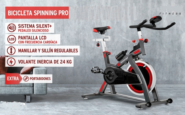 BICI SPINNING VOLANTE INERCIA 24KG - foto 1