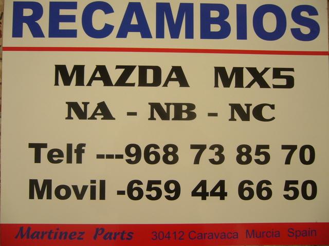 AIREADORES MAZDA MX5 MIATA NC - foto 3