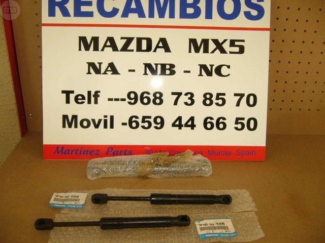 AMORTIGUADOR CAPOT TRASERO MAZDA MX5 NC - foto 2