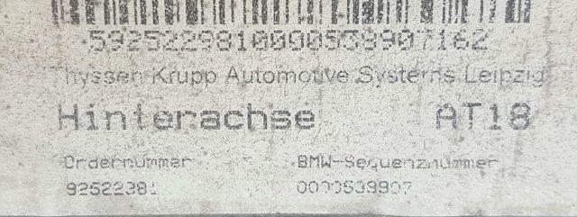 VENDO PUENTE TRASERO BMW SERIE 1 - foto 2