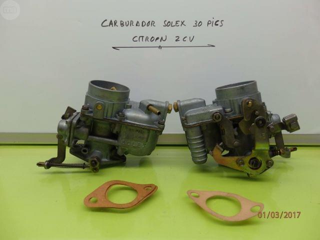 CARBURADOR CITROEN 2 CV SOLEX 30 PICS - foto 1
