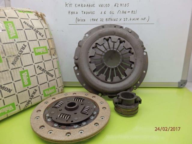 KIT EMBRAGUE FORD TAUNUS 1. 6 GL - foto 1