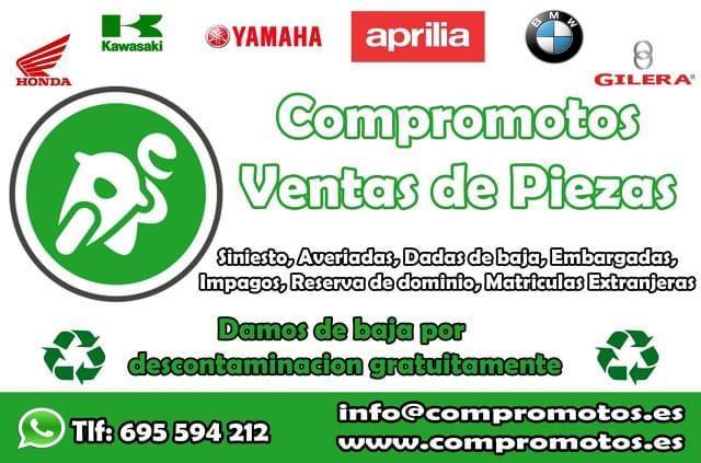 LLANTA DELANTERA APRILIA ARRECIFE 125 - foto 3