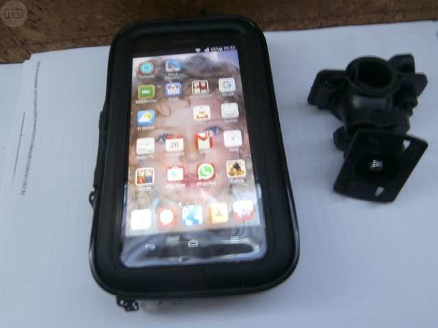FUNDA DE MOVIL PARA MOTO IMPERMEABLE XXL - foto 1