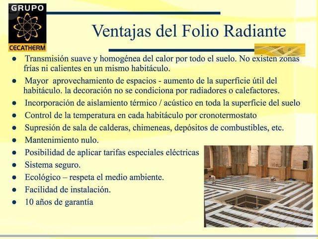 CALEFACCIÓN FOLIO RADIANTE / REFORMAS - foto 8